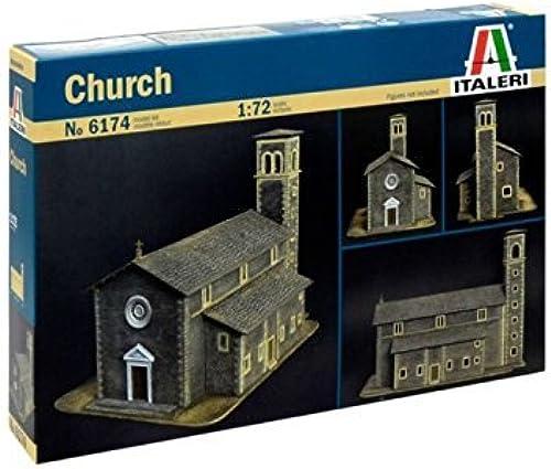 Church  - Model Kit - Italeri by Hobby