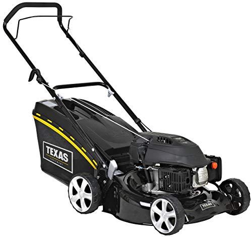 TEXAS RAZOR 4610 Benzinrasenmäher Rasenmäher (139 ccm, 46 cm Arbeitsbreite, Mulchfunktion, 6-stufige Schnitthöhenverstellung)