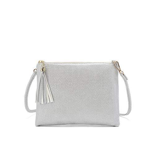 Aitbags Small Crossbody Bag for Women Lightweight Handbags Small Shoulder Purses with Tassel