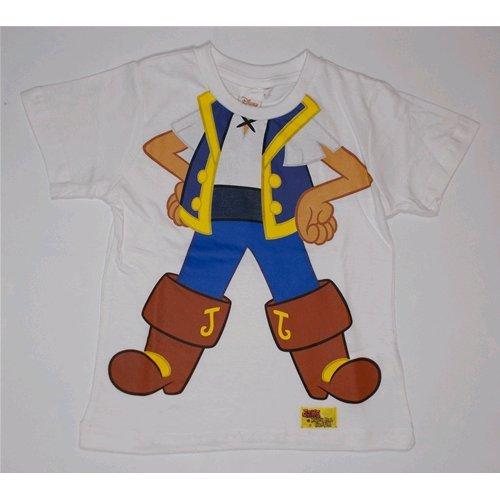 T-shirt t-shirt captain summer Jak Disney enfant 3/6 ans – oe1004 5-6 years bianco