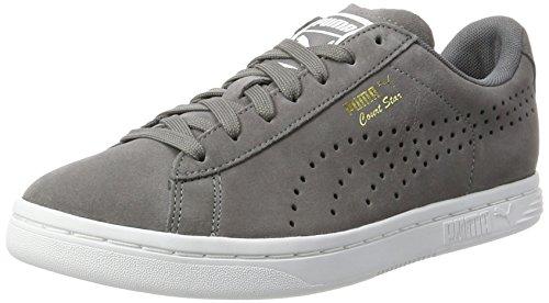 PUMA Unisex-Erwachsene Court Star Suede Sneaker, Grau (Quiet Shade 2), 44.5 EU