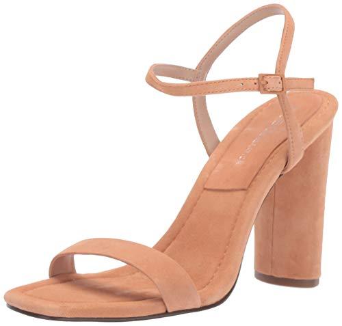 BCBGeneration Women's Ilsie Block Heel Sandal Pump, Toasted Apricot, 8 M US
