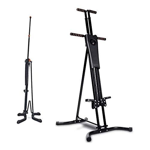 UIZSDIUZ Paso Plegable Ajustable Máquina Escalador Vertical, Gimnasio en casa Máquinas de Ejercicios Bicicleta de Ejercicio Inicio Body Trainer Paso a Paso Cardio Entrenamiento del Entrenamiento