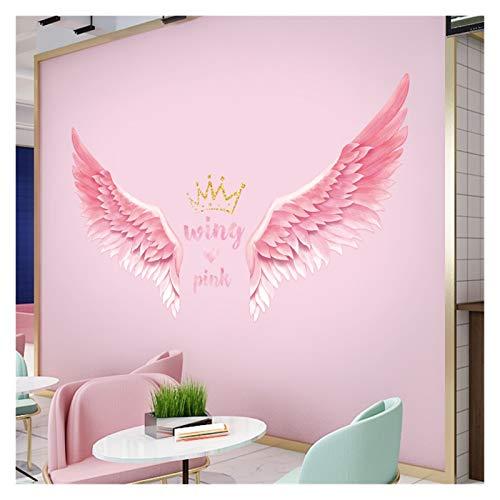 Pegatinas de pared Etiquetas engomadas de la pared de la ciudad para los niños Sala de niños Campeón de las niñas Decoración de la pared Dibujos animados de la pared Vinilos de la pared Decoración del
