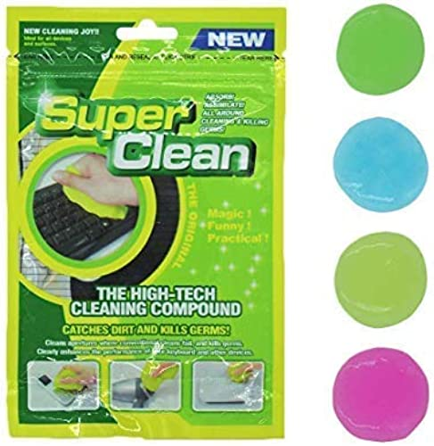 HOTKEI Super Clean Magical Universal Cleaning Slime Gel For Keyboard Laptops Car Accessories Electronic Products Pack Of 3