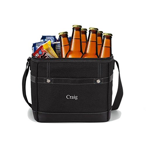 Personlized 12-Pack Cooler Tote - Custom Cooler Bag - Personalized Cooler Bag - Monogrammed Cooler Tote