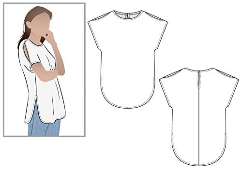 Style Arc Sewing Pattern - Rae Tunic (Sizes 04-16) - Click for Other Sizes Available
