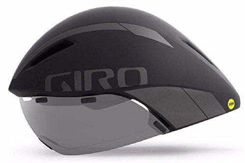 David's Formal Wear Giro aerohead MIPS Negro Mate Titanium Aero/Tri–Casco para bicicleta...