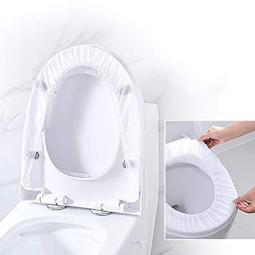 WQW Cubierta De Asiento De Inodoro, Cubierta De Asiento De Inodoro Fácil De Usar para Viajes De Hotel