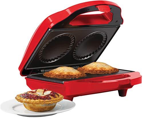 Holstein Housewares HF-09016R Fun Non-Stick Mini Pie Maker,...