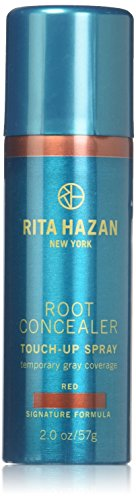 Rita Hazan Root Concealer Touch Up Spray, Red Cover Up Gray, 2 oz