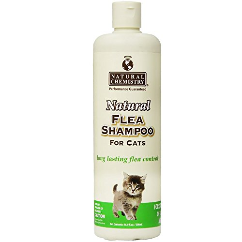 Natural Flea Shampoo for Cats & Kittens, 16.9oz