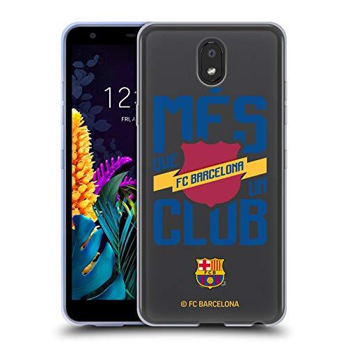 Officiële FC Barcelona Més Que Un Club 2019/20 Culé Soft Gel Case Compatibel voor LG K30 (2019)