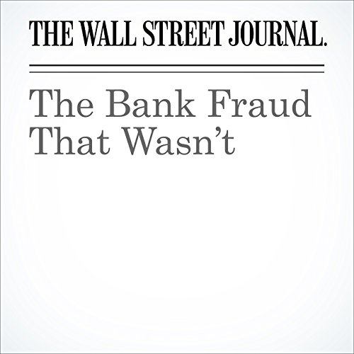 The Bank Fraud That Wasn't cover art