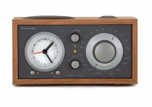 Tivoli 1024 Audio Model THREE Radiowecker kirsch/taupe