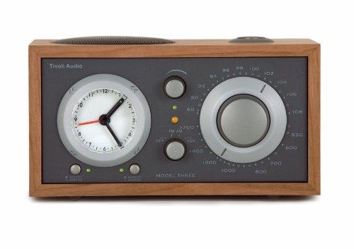 Tivoli 1024 Audio Model THREE Radiowecker kirsch/taupe