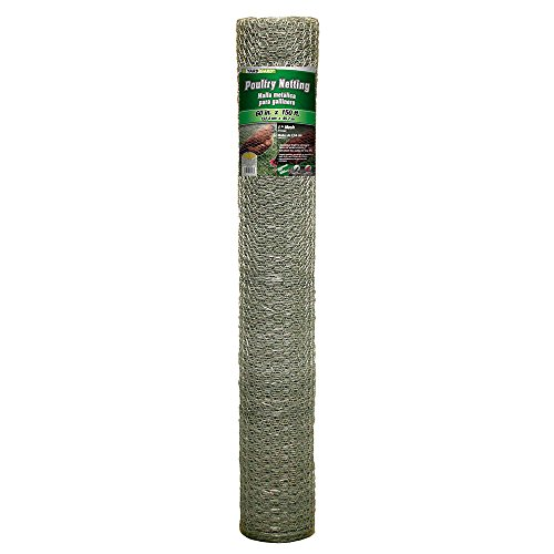 YARDGARD 308434B Fence, Height-60 Inches x Length-150 Ft, Color - Galvanized