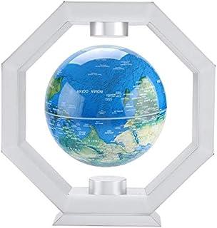 LYA 15,5 cm magnetsuspension flytande glob, polygonal magnetisk svanbana hantverk ornament glob rumsdekoration kreativ föd...