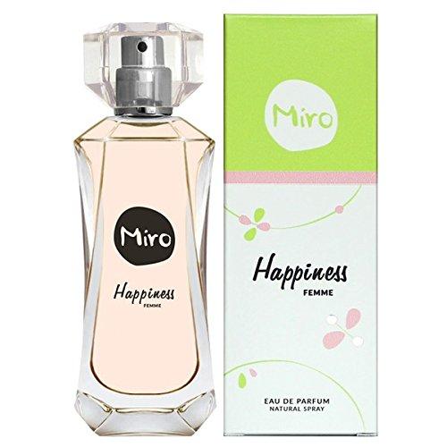 Miro Happiness Femme Eau de Parfum, 1er Pack (1 x 50 ml)