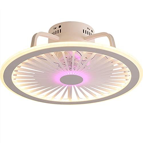 SOUTHSHINE LED Ventilador De Techo con Iluminación,56W Regulable con Control Remoto Velocidad del Viento Ajustable,Silencioso De La Sala Dormitorio De La Lámpara del Ventilador Temporizado