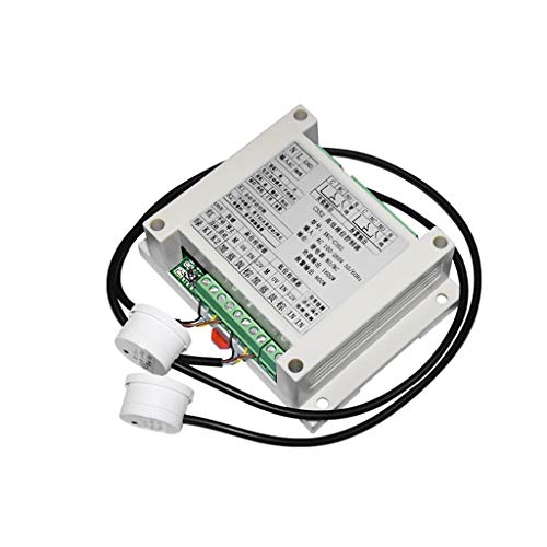 Taidacent Automatic Water Level Controller Automatic Water Pump Controller for Overhead Tank with Two Non Contact Liquid Level Sensors Water Tank Automatic Filling System