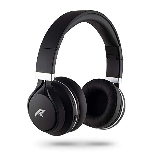 Redlemon Audífonos Bluetooth Inalámbricos Tipo Diadema, Sonido High Definition, Manos Libre, Plegables, con Aislamiento de Ruido Exterior, Batería de Larga Duración y Conector Aux 3.5mm (con Cable)