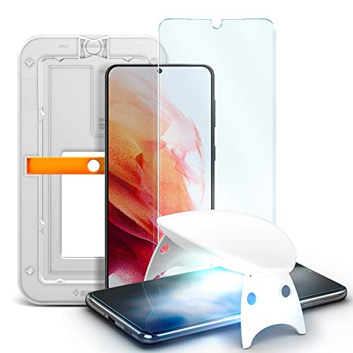 Spigen 1 Pack Glas.tR Platinum 2.0 Tempered Glass Screen Protector for Samsung Galaxy S21