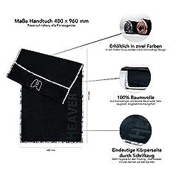 HEAVER fitness towel (gray)