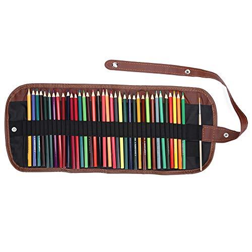 Lápices de colores 36 colores Lápices de dibujo solubles en agua Lápices de colores Juego de lápices de artista para adultos Niños Dibujar Pintura Escribir