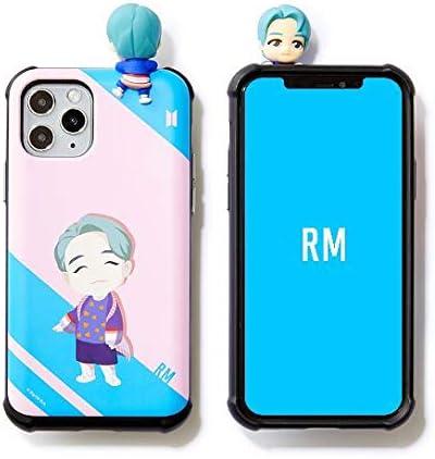 [BTS Cell Phone Case] BTS Character Figure Slide Bumper Samsung Galaxy, iPhone Case Edgeline (s20, RM)