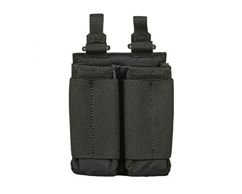 5.11 TACTICAL SERIES Flex DBL Pistol mag Pouch Bolsillo Suelto para Mochila, 17 cm, Negro (Black)