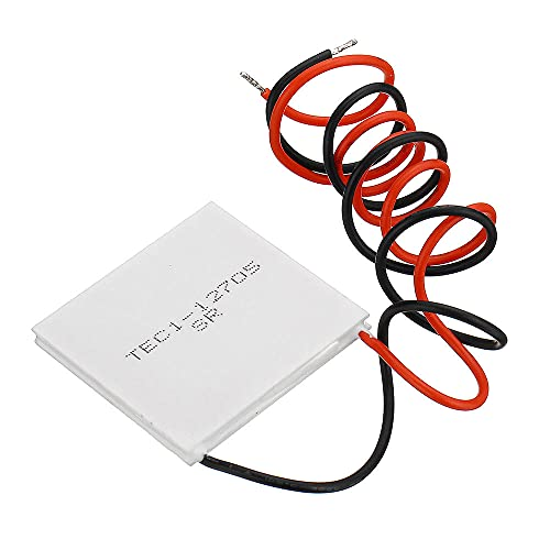 Módulo electrónico Hoja TEC1-12705 refrigerador termoeléctrico Peltier 40 * 40MM 12V Peltier Refrigeración Refrigeración módulo de semiconductores 3 piezas Equipo electrónico de alta precisión
