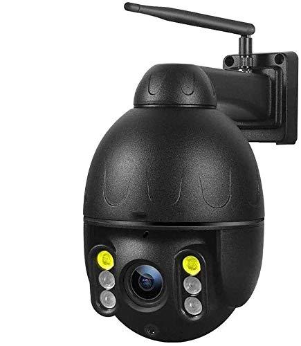 ZXCV El Seguimiento De Supervisión De La Tarjeta A Prueba De Agua Al Aire Libre Cámara De Vigilancia 4G De 360 Grados De Rotación De La Cámara Domo A Todo Color Visión Nocturna 4G