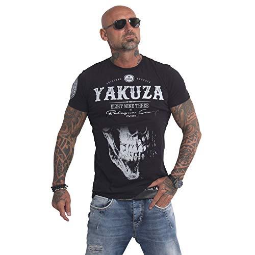 Yakuza Original Herren Daily Skull T-Shirt, Farbe schwarz, Size M