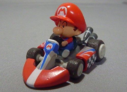 Nintendo wii Super Mario Kart Display Mini Figure~2.5cm x 5 cm~Baby Mario