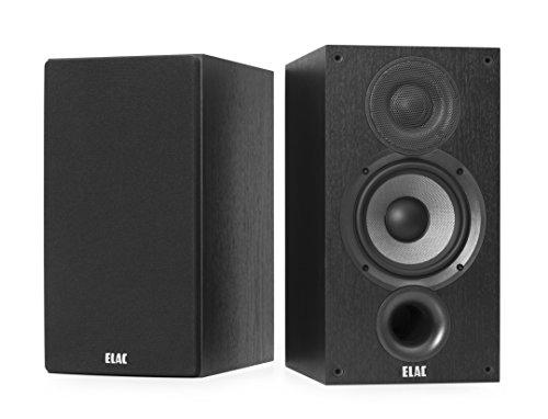 ELAC Debut B5.2 Regal-Lautsprecher Schwarz dekor