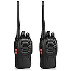 2 Watt Programmable Handheld Amateur Radio Frequency Range: UHF: 400-520 MHz(Rx/Tx).The BF-888S include a built-in high illumination flashlight and an emergency alarm Customize Programming by Using the PC03 FTDI Programming Cable Broadband (Wide) 25k...
