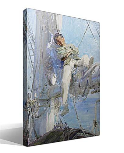 Cuadro Canvas Marinero durmiendo de Henry Scott Tuke