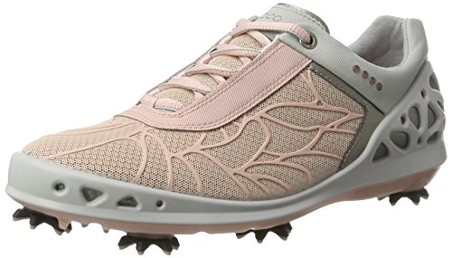 Ecco ECCO Damen Women's Golf CAGE Golfschuhe, Pink (216SILVER PINK), 40.5/41 EU