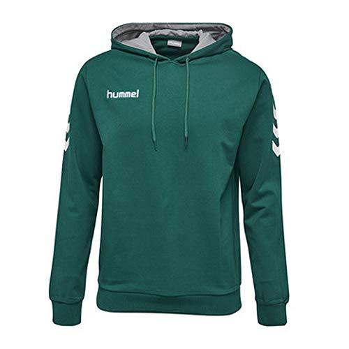 Hummel Hummel Herren CORE COTTON HOODIE Sweatshirt, Evergreen, S