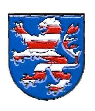 Pin Anstecker Hessen Wappen