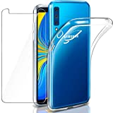 AROYI Samsung Galaxy A7 2018 Case, Galaxy A7 2018 Glass