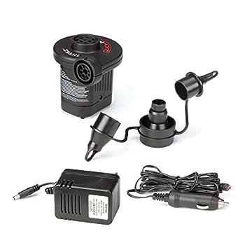 Intex Quick-Fill AC/DC Electric Air Pump 110-120 Volt Max Air Flow 15.9CFM