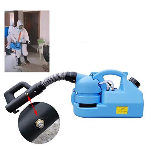 Pulvérisateur électrique à dos de 16 litres, machine de brumisation de désinfection de l'environnement, taille de gouttelette de brume réglable 5-50mu; m, distance de pulvérisation 6-8 mètres, bleu