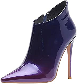 MisaKinsa Women's Sexy Stiletto Heel Dress Ankle Boots