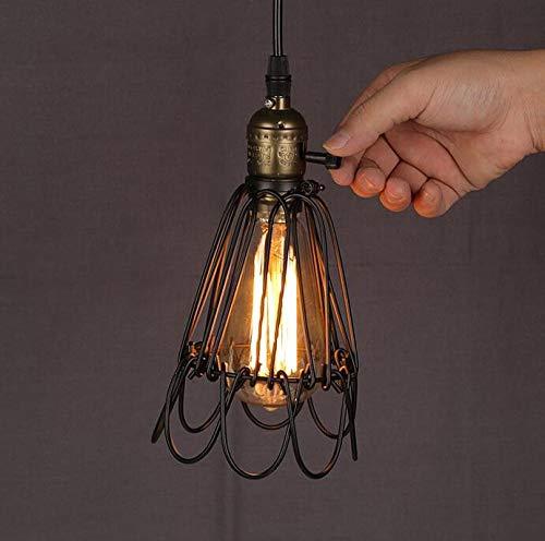 Industriële windlicht van de verlichting antieke ijzeren draadlampen ambachtelijke verlichting