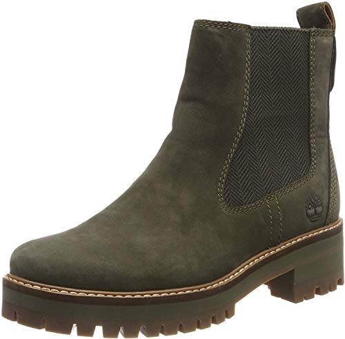 Timberland Courmayeur Valley Chelsea Olive Night CA1J5U, Stiefeln - 38.5 EU