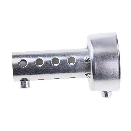 YXWEI® 2pcs 80mm Lange Exhaust Leitblech Fit 47mm-49mm Auspuffrohre Baffle 48mm