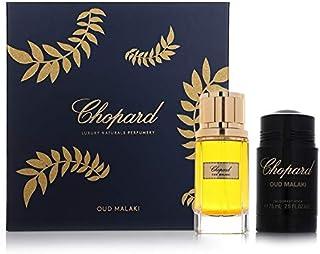 Chopard Oud Malaki Eau De Parfum For Men, 80ml + Deodorant Stick, 75ml Set