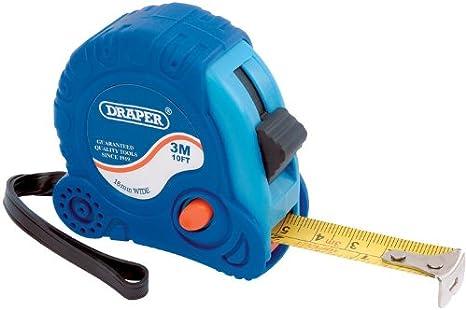 Draper 75298/M/ètre ruban 3/m x 16/mm